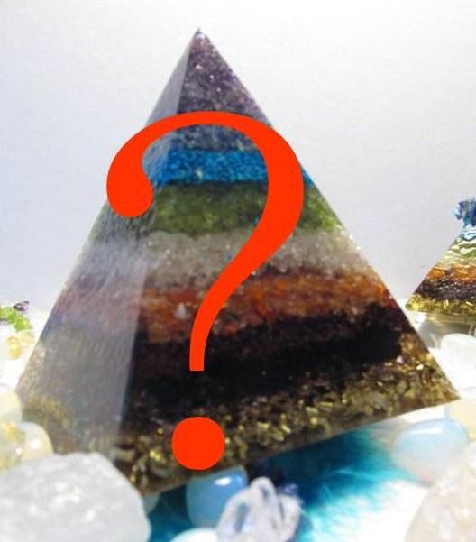 Orgonit na přání - Egyptská pyramida 10x10cm XXL (zakázková výroba orgonitu na přání)