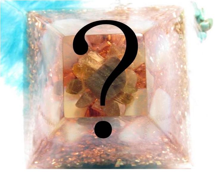 Orgonit na přání - Mayská pyramida veká (zakázková výroba orgonitu na přání)