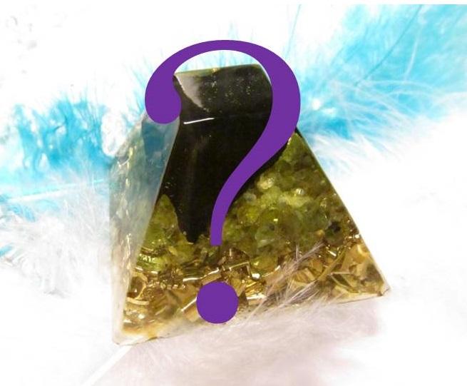 Orgonit na přání - Mayská pyramida malá (zakázková výroba orgonitu na přání)