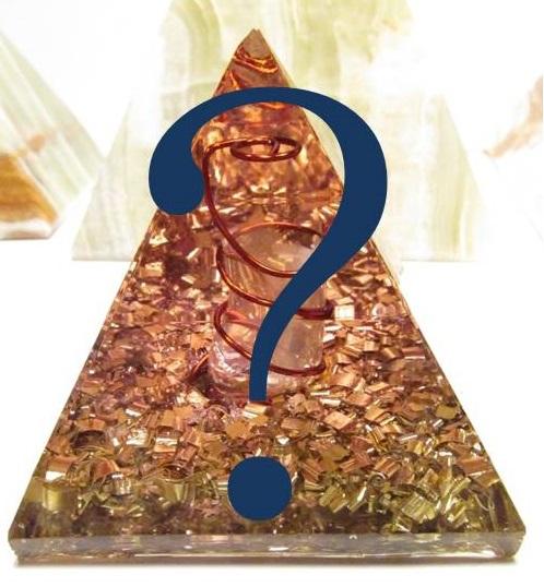 Orgonit na přání - Egyptská pyramida (zakázková výroba orgonitu na přání)